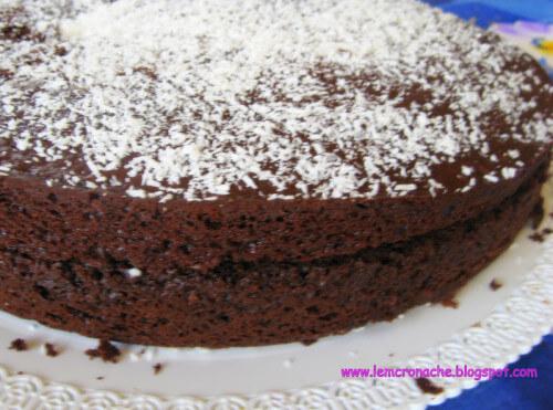 torta pinguì al cocco fatta in casa