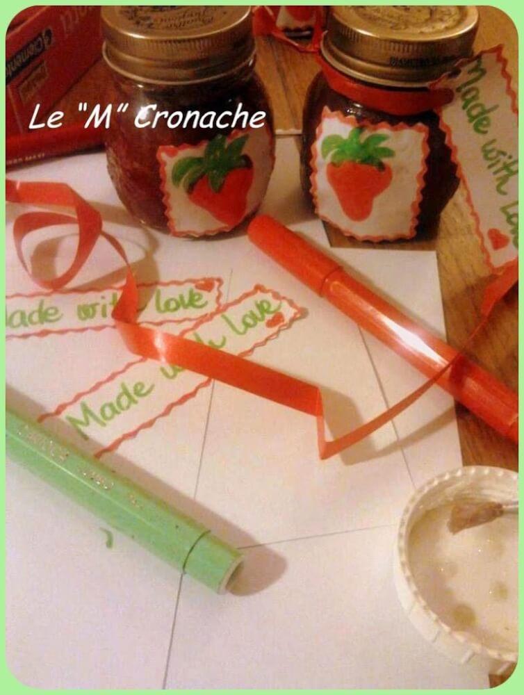 marmellate di primavera: fragole
