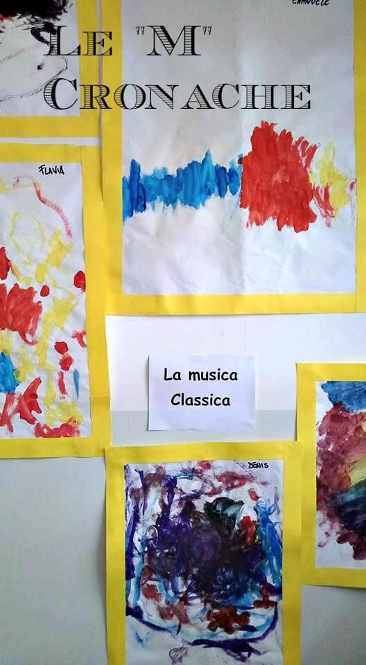 dipingere con musica classica