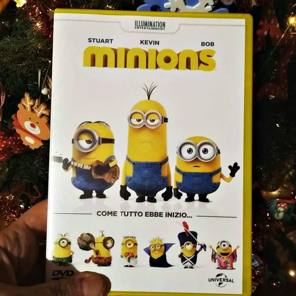 dvd di natale minions