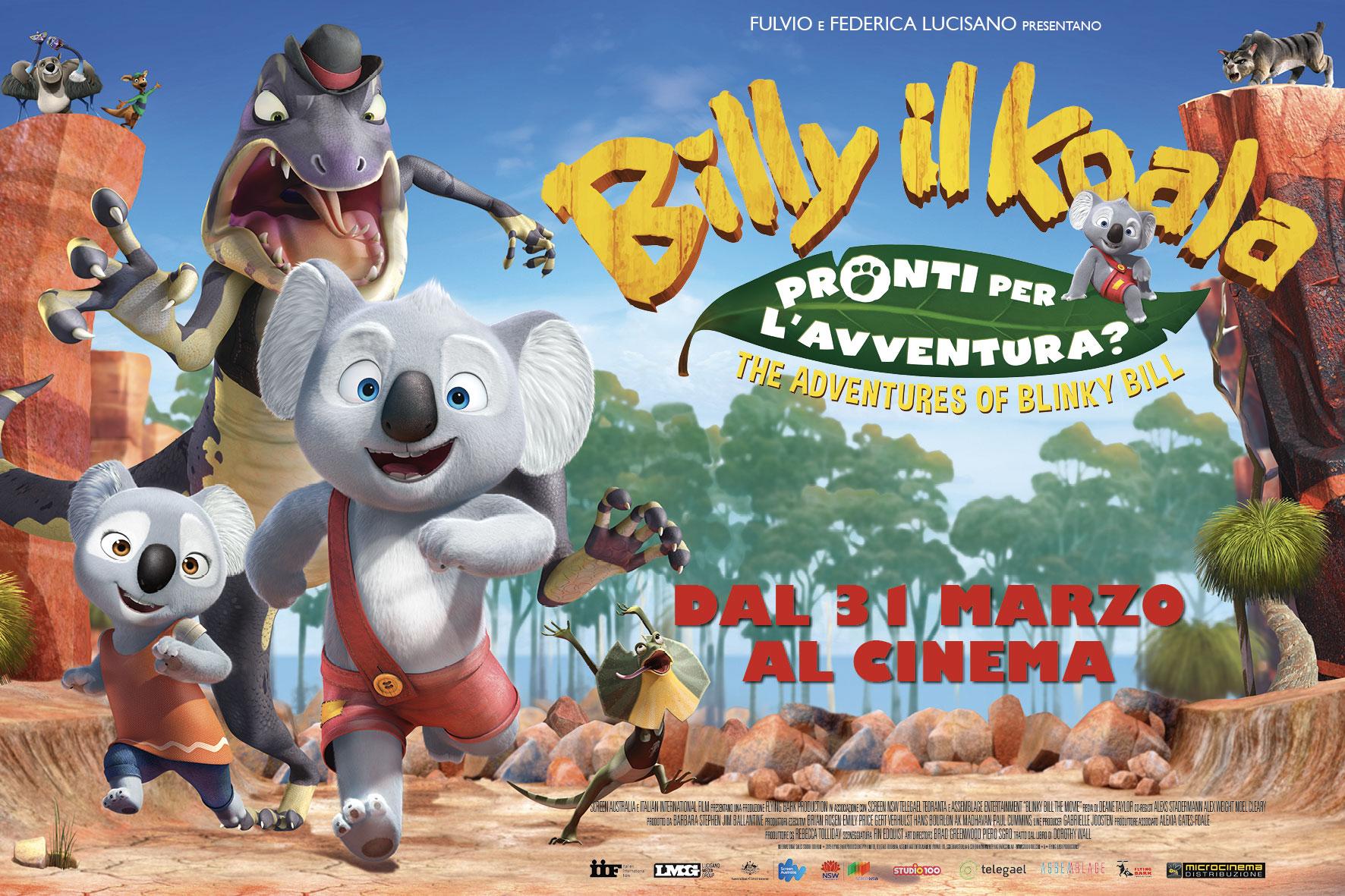 Billy il koala al cinema