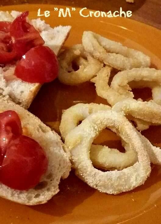 anelli di calamari non fritti1