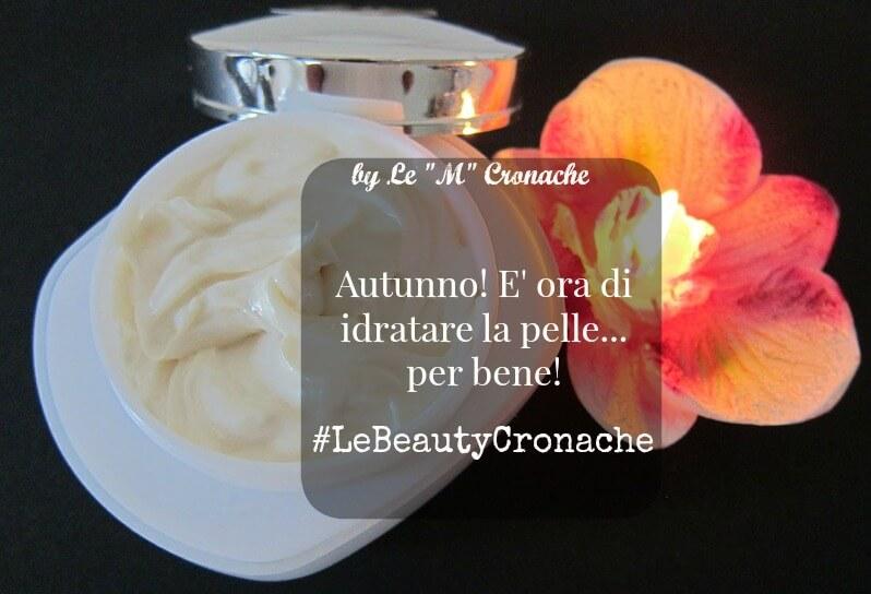 trattamenti idratanti viso autunno