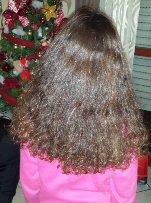 capelli ricci bambina