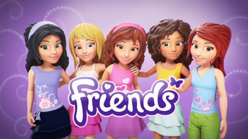 dvd lego friends