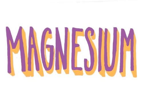 magnesio e benessere
