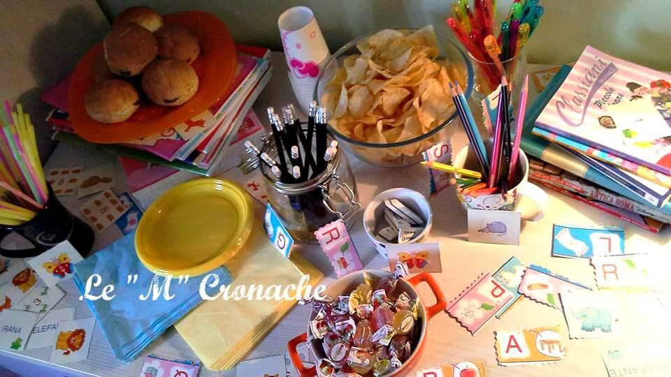 backtoschool party tavola