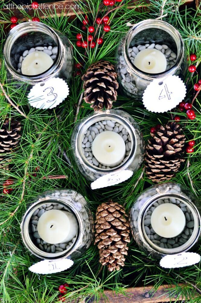 http://www.atthepicketfence.com/2013/11/mason-jar-advent-calendar-advent-ures.html