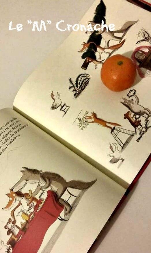 libro per bambini la cena di natale