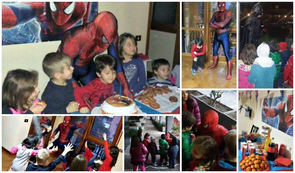 compleanno con i supereroi