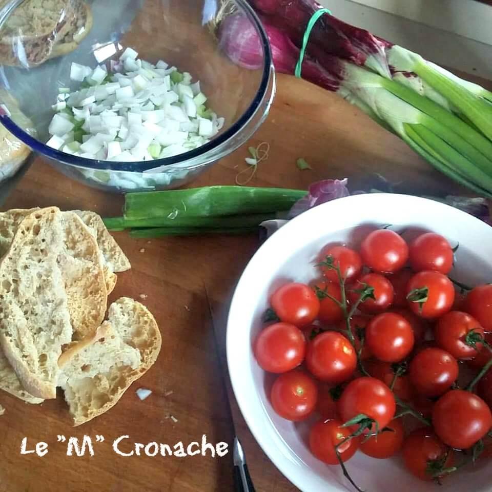 panzanella ingredienti