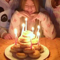 torta di compleanno semplice per bambini